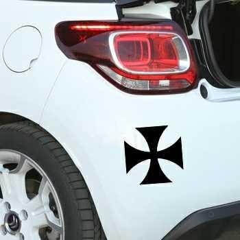 Sticker Citroën Croix de Malte 2