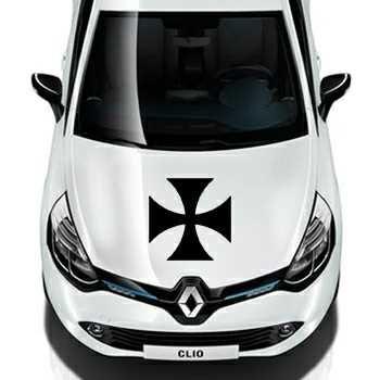 Sticker Renault Croix de Malte 2