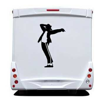 Michael Jackson Camping Car Decal 5