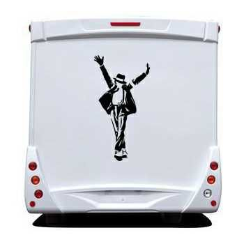 Sticker Camping Car Michael Jackson 6