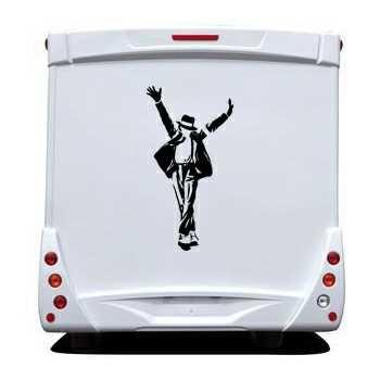 Michael Jackson Camping Car Decal 6