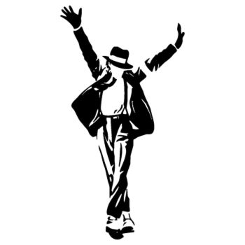 Sticker Michael Jackson 6