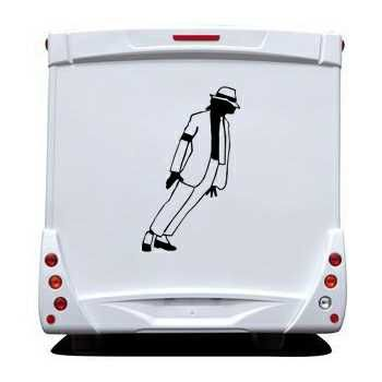 Sticker Camping Car Michael Jackson 7