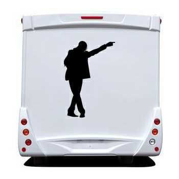 Sticker Camping Car Michael Jackson 8