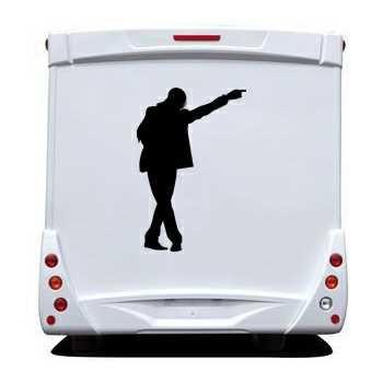 Michael Jackson Camping Car Decal 8