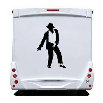 Michael Jackson Camping Car Decal 10