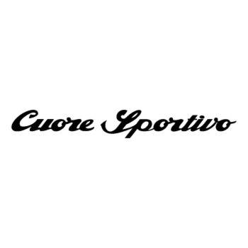Sticker Alfa Romeo Cuore Sportivo Logo 2