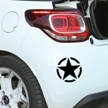 US ARMY STAR Citroen DS3 Decal