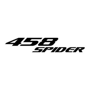 Ferrari 458 Spider logo Decal