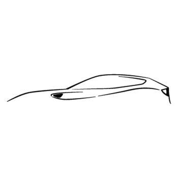 Ferrari FF silhouette 2013 Decal