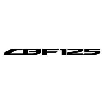 Sticker Honda CBF125 Logo 2013