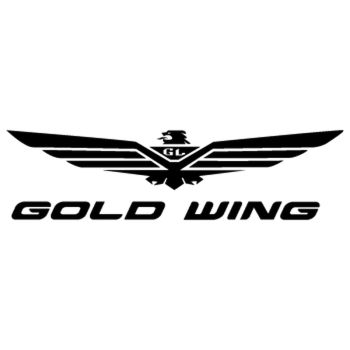 Honda Goldwing logo 2013 Decal