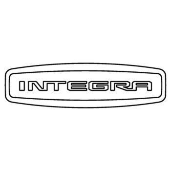 Honda scooter Integra logo 2013 Decal
