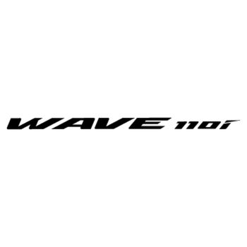 Honda Scooter WAVE 110i logo 2013 Decal