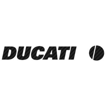 Sticker Carbone Ducati