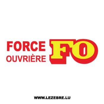 Tee shirt Force Ouvrière FO