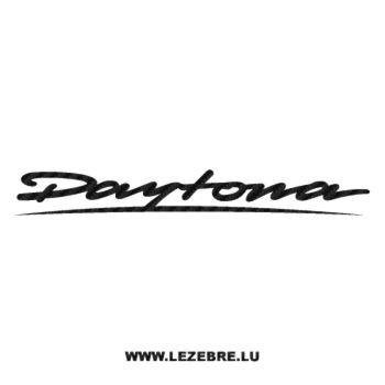 Sticker Carbone Triumph Daytona