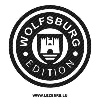 Sticker Karbon Volkswagen Wolfsburg Edition VW