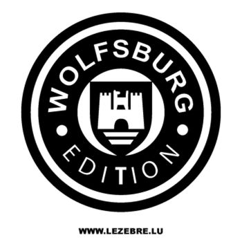 Sticker Volkswagen Wolfsburg Edition VW