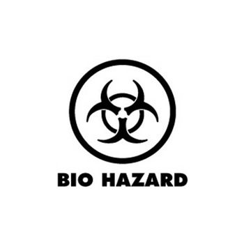 Sweat-Shirt Biohazard