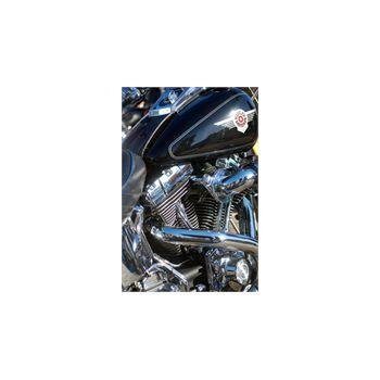 Sticker Deko Harley Davidson Moteur