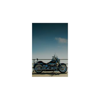 Sticker Deko Moto Harley Davidson