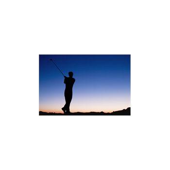 Sticker Déco Joueur de Golf