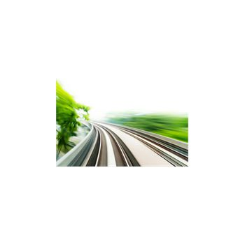 Sticker Déco Lignes train haute vitesse