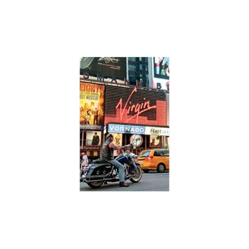 Sticker Déco Motard Harley Times Square Manhattan