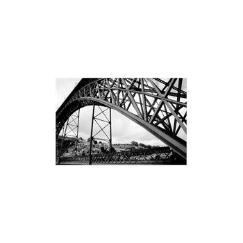 Sticker Deko Passerelle Eiffels Porto Portugal