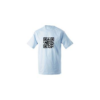 Custom QR Code Hyperlink t-shirt
