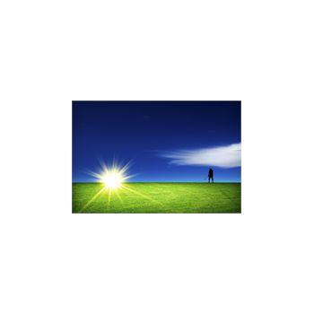 Sticker Déco Silhouette Joueur de Golf