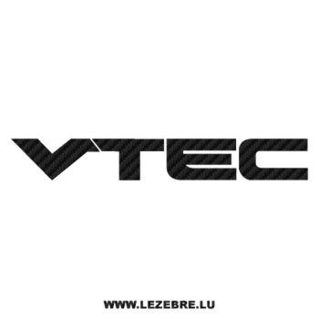 Honda VTEC Carbon Decal