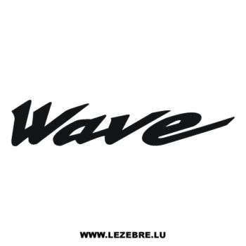 Honda Wave Decal