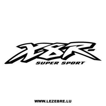 Honda X8R Super Sport Decal
