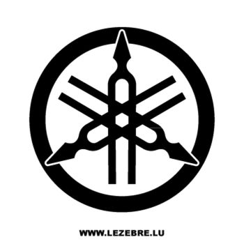 Sticker Yamaha nouveau logo