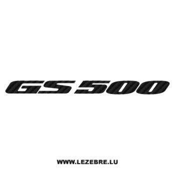 Sticker Carbone Suzuki GS 500