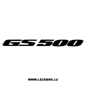 Sticker Suzuki GS 500