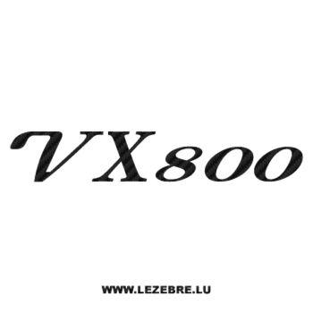 Sticker Carbone Suzuki VX 800