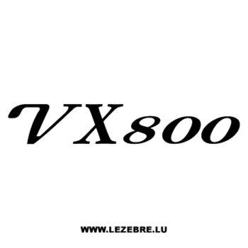 Sticker Suzuki VX 800