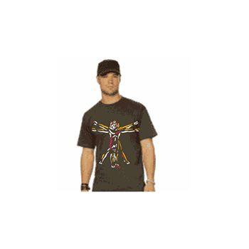 Tee shirt Da Vinci  Homme de Vistuve Couleur