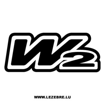 W2 Boots logo Decal