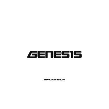 Sticker Yamaha Genesis