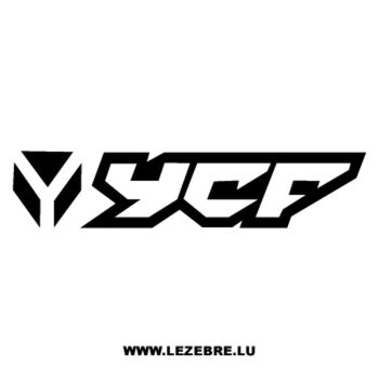 YCF logo Decal