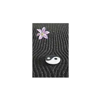 Sticker Déco Yin et Yang dans un Jardin Zen