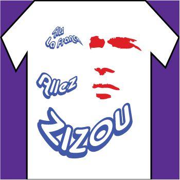 Zizou allez zizou T-shirt