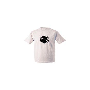 Tee shirt Tête de Maure Corsica
