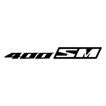 Sticker Suzuki 400 SM Logo 2013