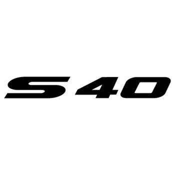 Sticker Suzuki Boulevard S40 Logo 2013