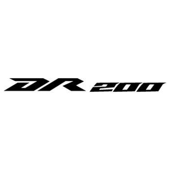 Sticker Suzuki DR200 Trojan Logo 2013